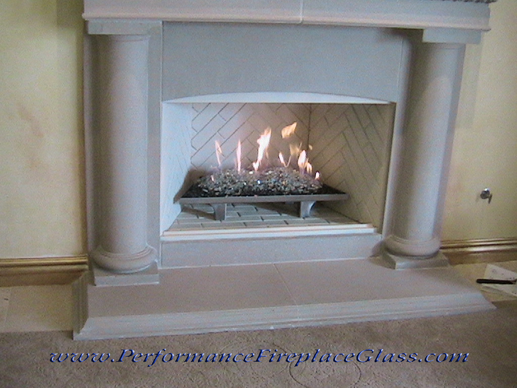 Elegant Stainless Steel Fireplace Trays
